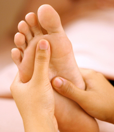 Sore feet or sore foot